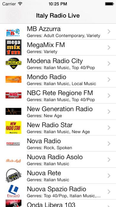 Italy Radio Live Player (Italian/Italia/italiana)