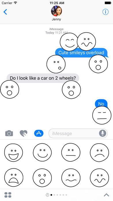 Stick Emoji for iMessage