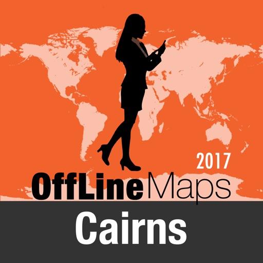 Cairns mapa offline y guía de viaje