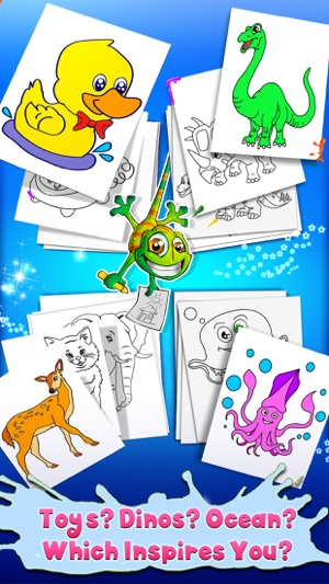 Kids Coloring Book - draw, color & paint studio on the App Store