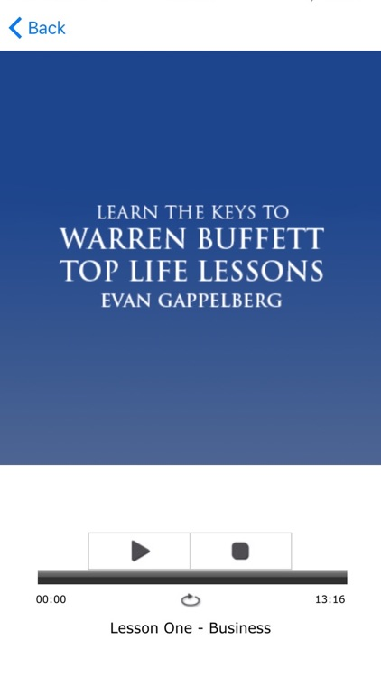 Warren Buffett: Top Life Lessons Meditations Audio screenshot-3