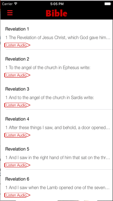 American Standard Version Bible (Audio) screenshot three