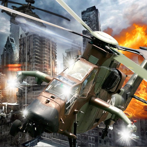 Give Chase In Flight Copter - Adrenaline Air Driving Game