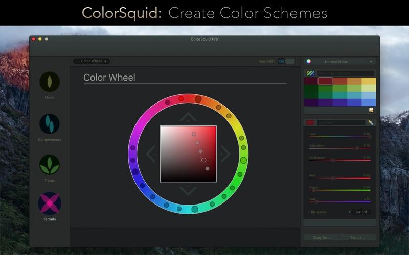 Colorsquid review screenshots
