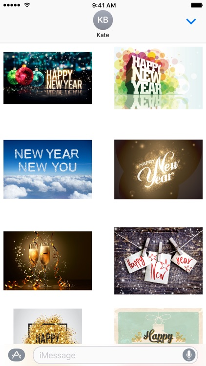 New Year's Eve - Stickers