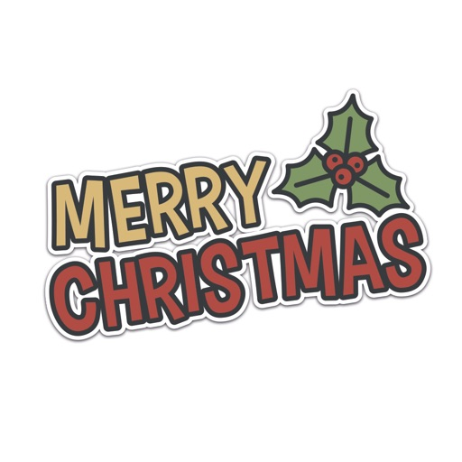 Xmas Stickers - Christmas