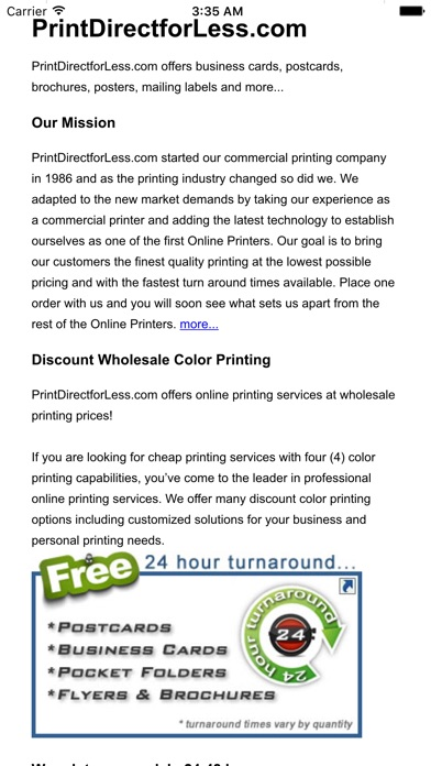 print direct for less app price drops