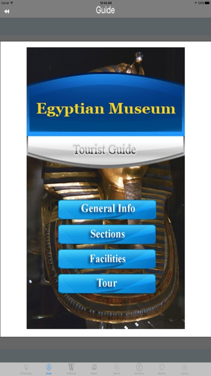 Egyptian Museum Cairo Egypt Tourist Travel Guide screenshot-3