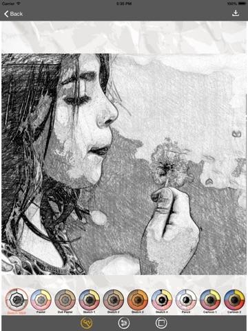 Screenshot #6 pour Sketch Me! Sketch&Cartoon