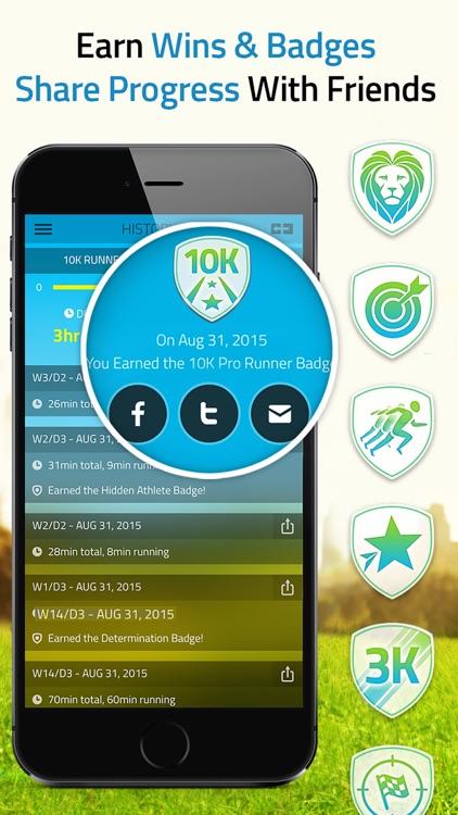 10K Runner: 0 to 5K to 10K Trainer, Run 10K. screenshot-3