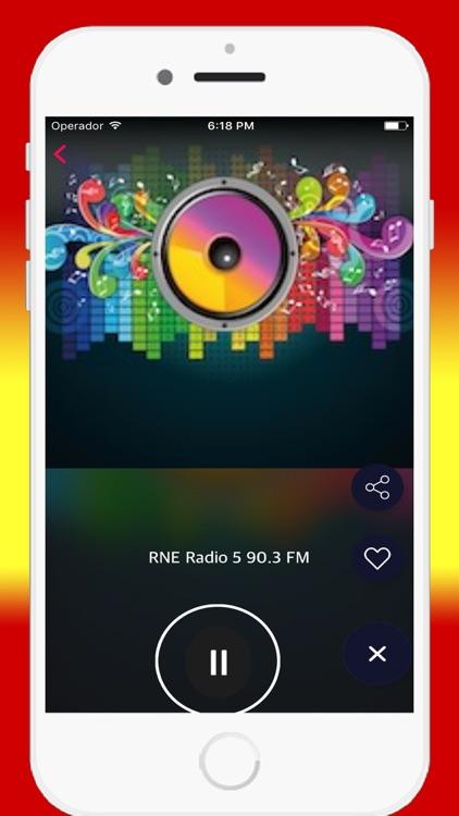Radio Spanish FM AM - Live Radios Stations Online screenshot-4
