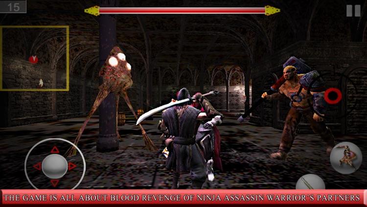Ninja assassin Samurai Warrior the day of the dead screenshot-3