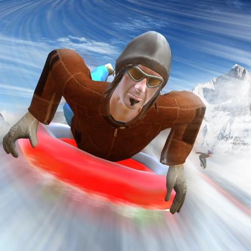 Snow Slide Simulator 3D - Real Snowboarding Jump