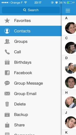 ContactsXL Classic Screenshot