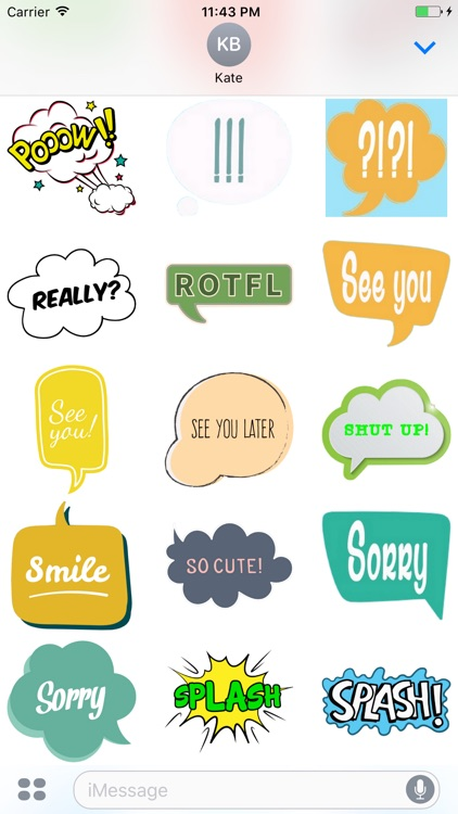 Say Something Stickers