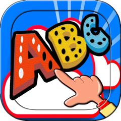 ABC writing alphabet games learning for kids UK