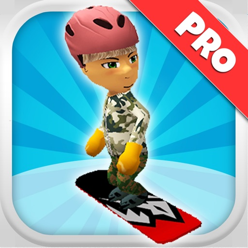 A Freestyle Snowboarder: Extreme 3D Snowboarding Game - Pro Edition icon