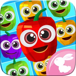 Pepper Garden Spicy Crush - Match 3 Farm Frozen And Frenzy Mania Games