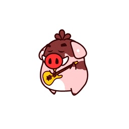 Fat Boar - Animated Stickers And Emoticon