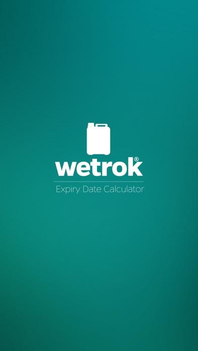 Wetrok Expiry Date Calculator screenshot one