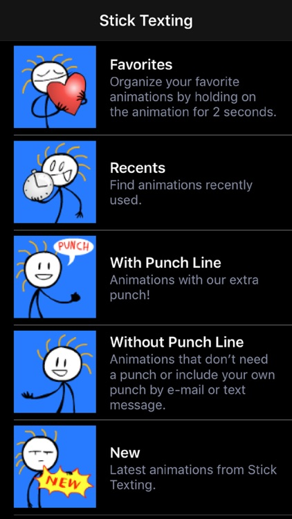 Stick Texting College Series screenshot-0