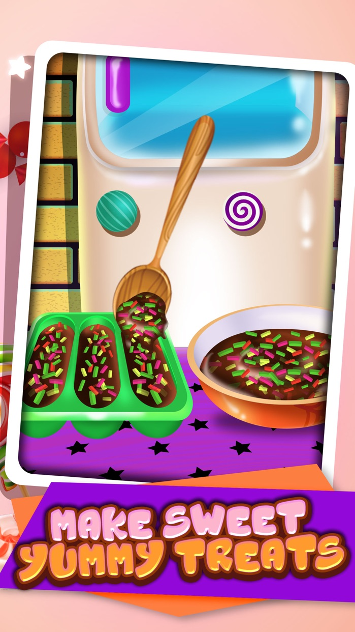Cookie Candy Maker - Food Kids Games Free! Screenshot