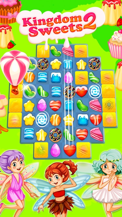 Kingdom of Sweets 2: Match-3 screenshot-4
