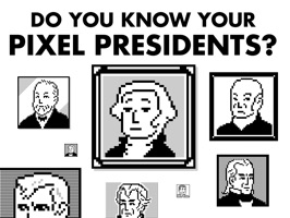 Pixel Presidents
