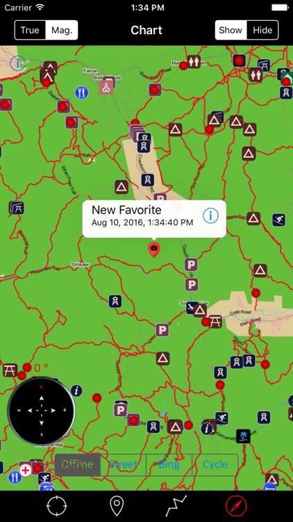 White Mountain National Forest – Offline Navigator screenshot-3