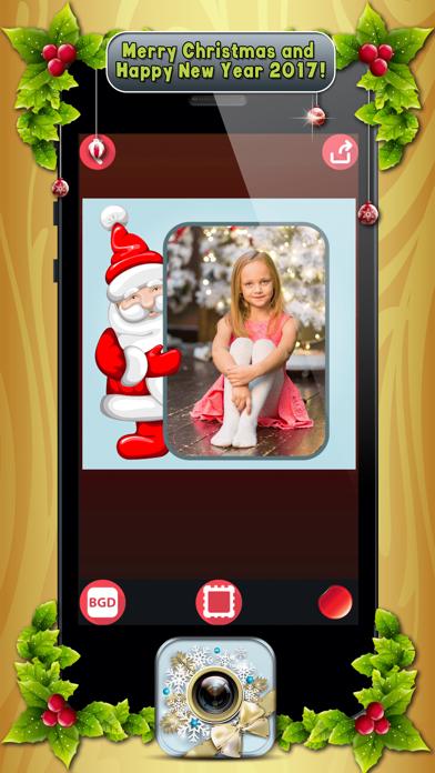 download Marcos de Fotos de Navidad con Pegatinas Navideñas apps 2