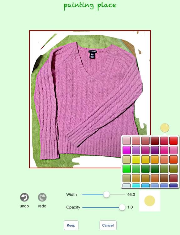 Clothing Plan screenshot-4