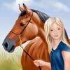 Pferde und Reiter Anziehspass