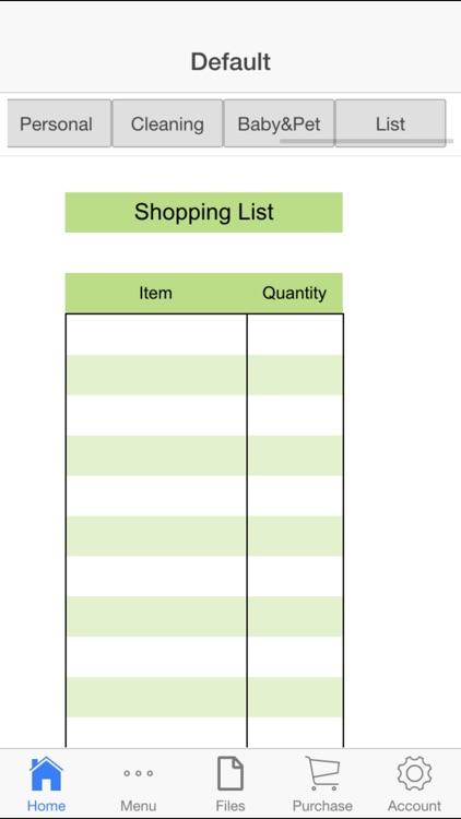 Shopping Lists App screenshot-3