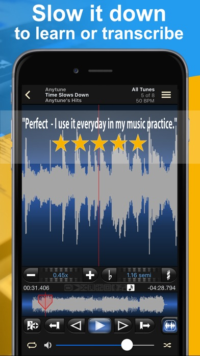 Anytune Pro+ app image