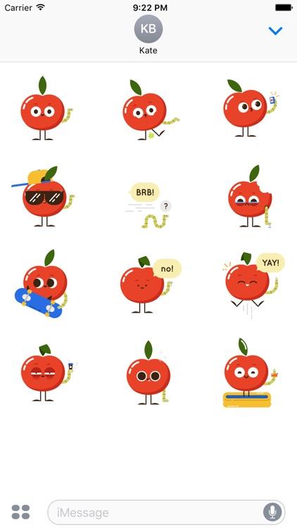Happles Sticker Pack