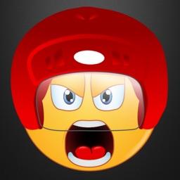 Hockey Emoji Stickers