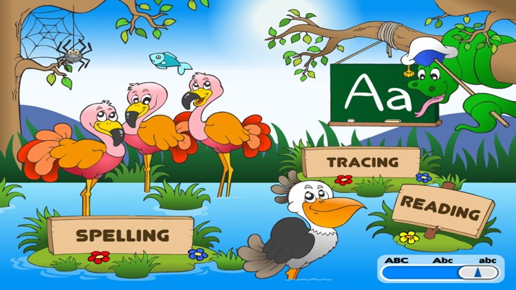 Alphabet Learning ABC Puzzle Game for Kids EduAbby screenshot-4