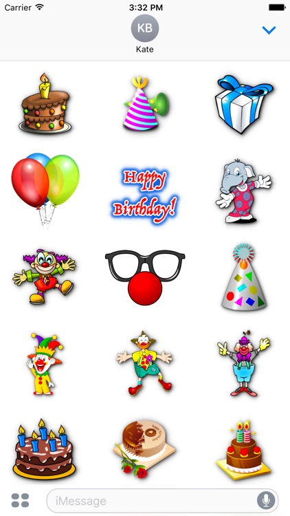 Happy Birthday • Stickers for iMessage