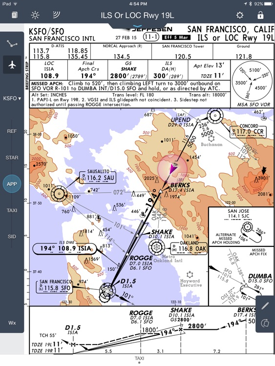 Jeppesen Mobile FD screenshot-2