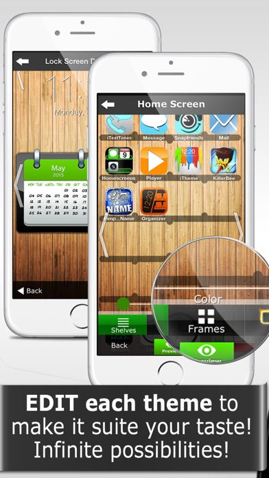 Screenshot for iTheme - Themes for iPhone and iPad in Jordan App Store