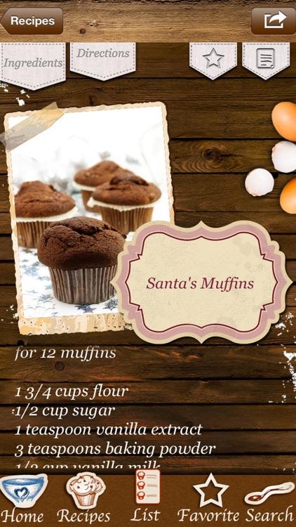 Christmas Muffins & Holiday Cupcakes - Recipes screenshot-4