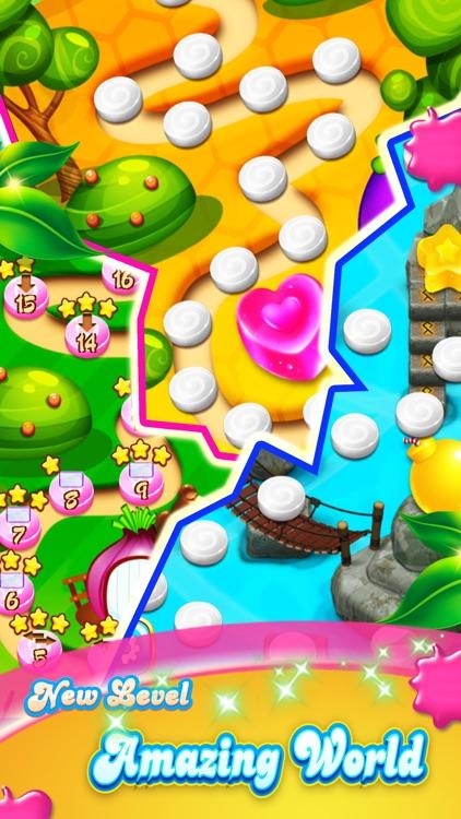 Charm Fruits Garden - New Sweet Match3 Blast screenshot-3
