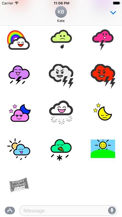 WeatherKins | Kawaii Weather Emoji