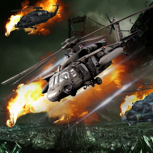 A Revenge In The Sky Of Helices - A Helicopter Hypnotic X-treme Game icon