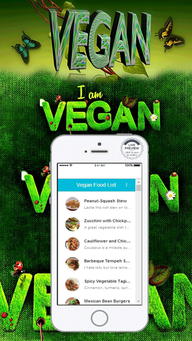Vegan Diet Food List Recipes screenshot one