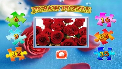 Flower Jigsaw Puzzle Free screenshot two