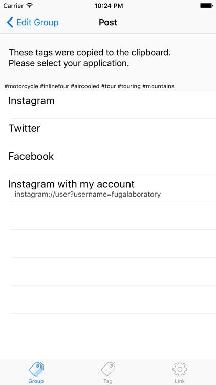 Hashtag Memo screenshot-3