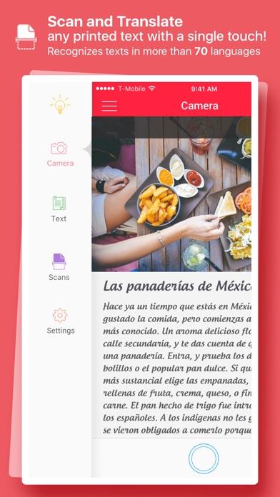 Scan & Translate - image Scanner and Translator app image