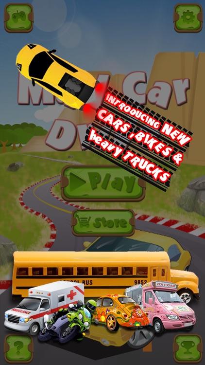 Mad Car Drive 2D: Crazy Driver screenshot-0