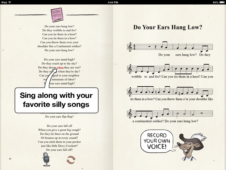 The Pink Book of Silly Songs Full Version screenshot-4